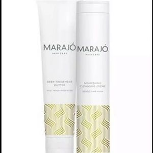 MARAJO  Cleansing Creme & Deep Treatment Butter